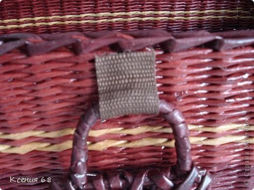 """Мастер-класс Плетение: Сундук на колесах в стиле """"минимализм"""" Бумага газетная Отдых. Фото 32"""