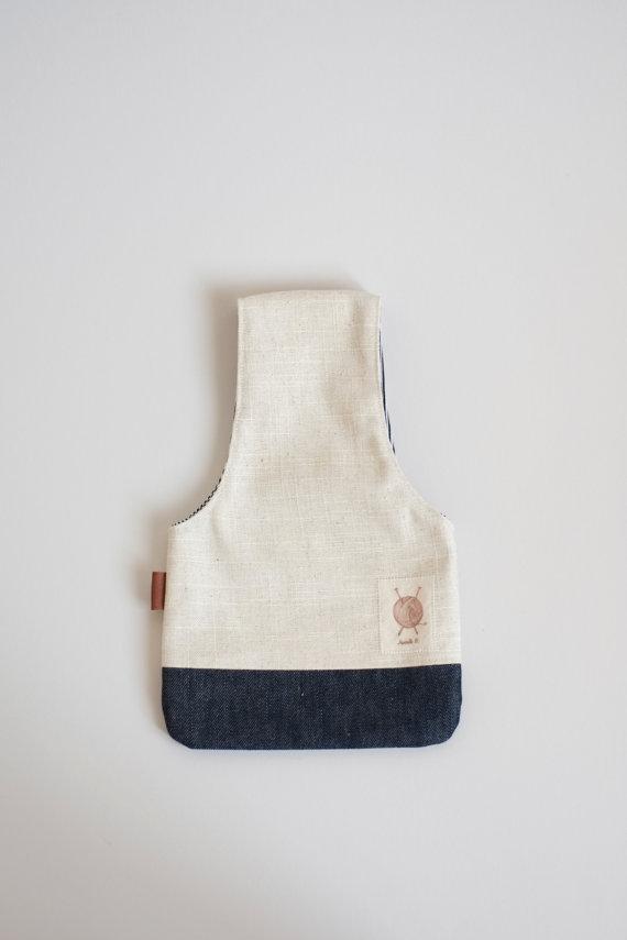 Оригинальная сумка для вязания