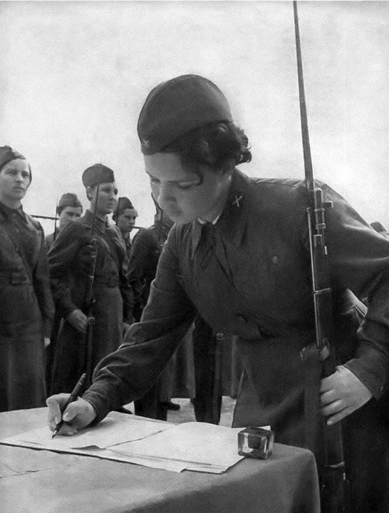 Женщины-военные во время Великой отечественной война, девушки, ссср