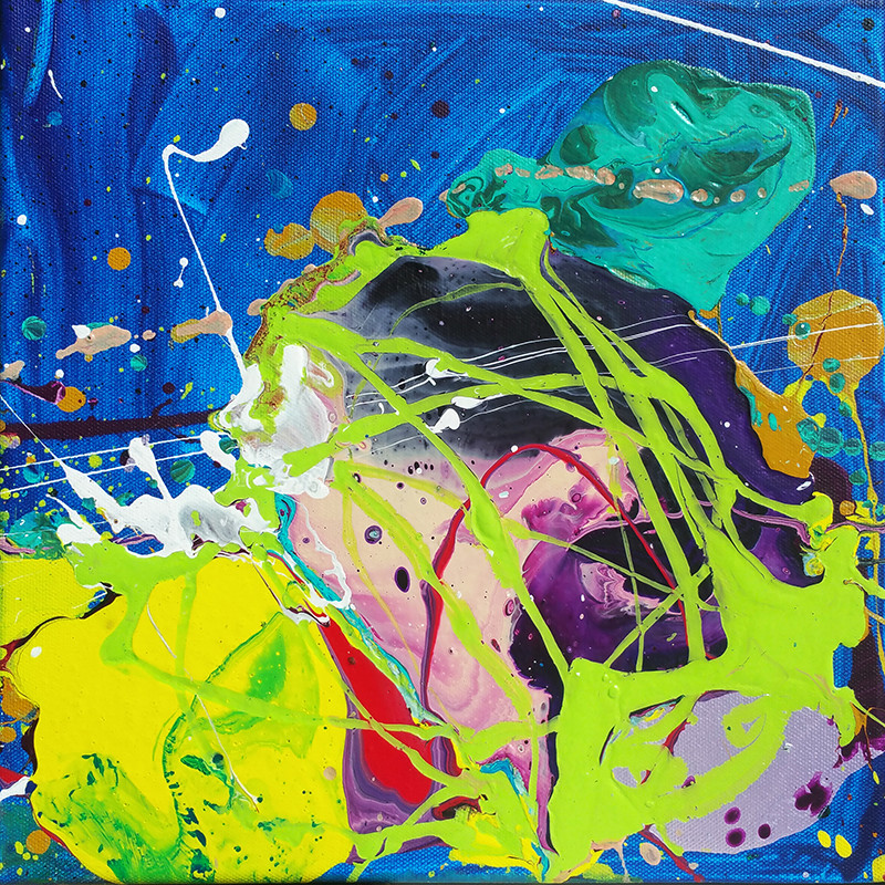 Картины 4-летнего художника продаются за тысячи долларов
