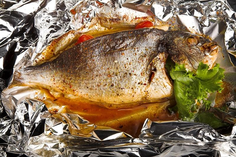 как запекать в духовке лосось