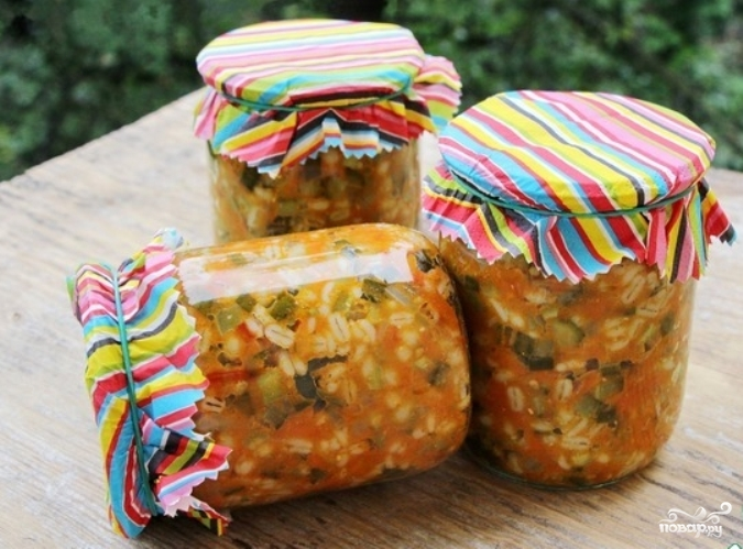 Рецепт салата на зиму рассольник
