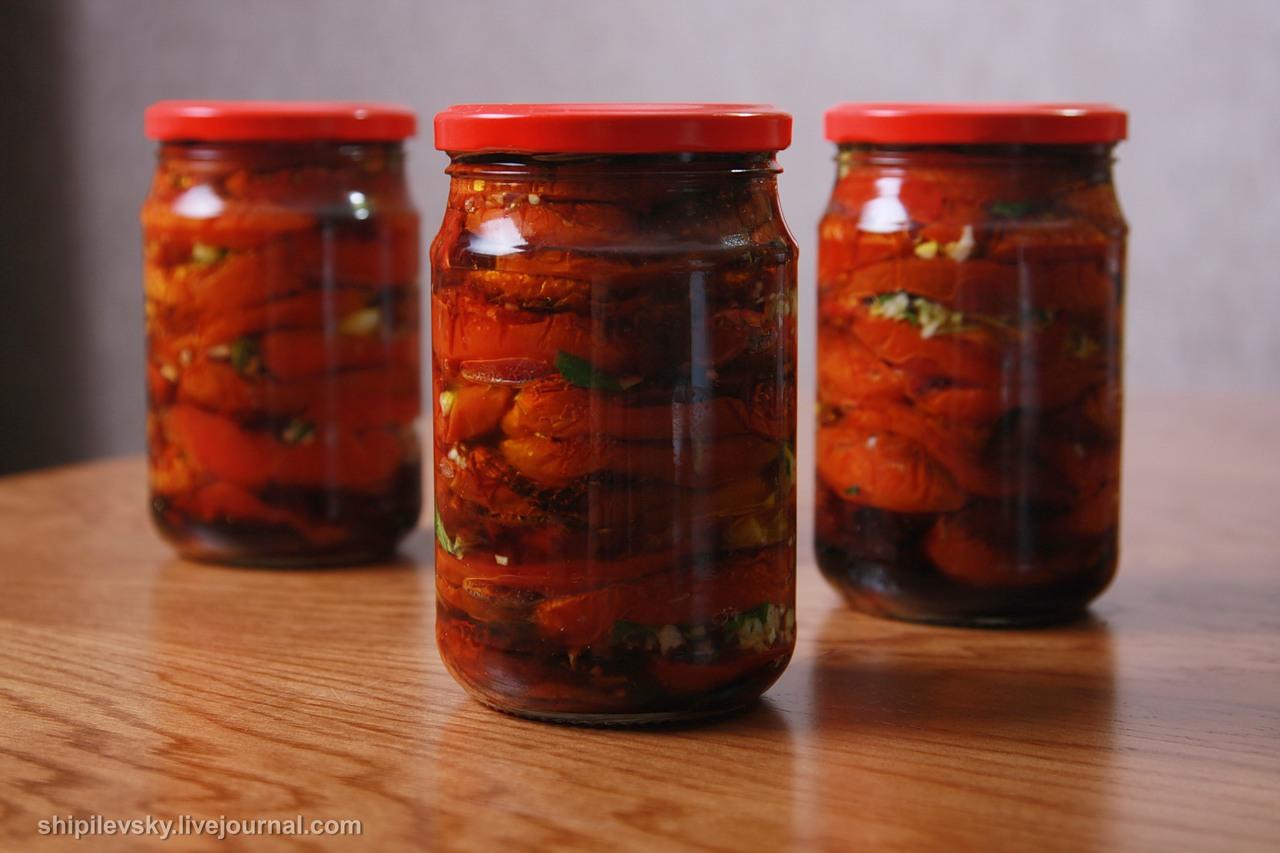 Вялим помидоры