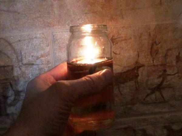 Свеча на масле