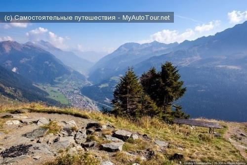 Швейцария. Перевал Сен-Готард