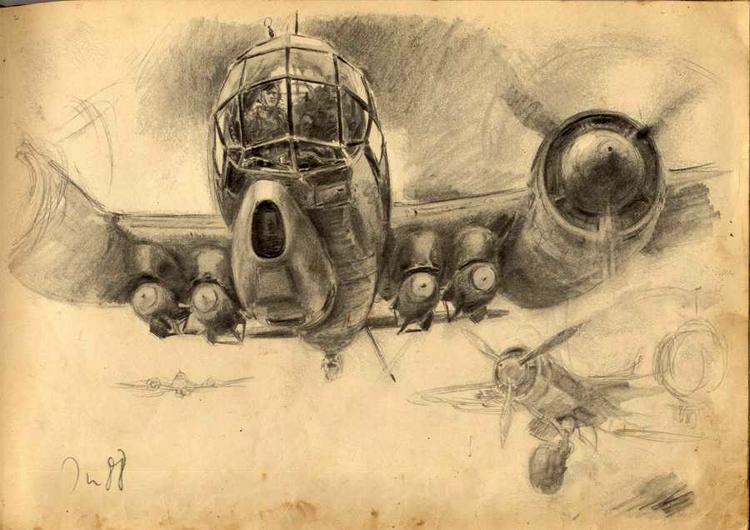 Военная живопись Третьего Рейха. Ханс Лиска