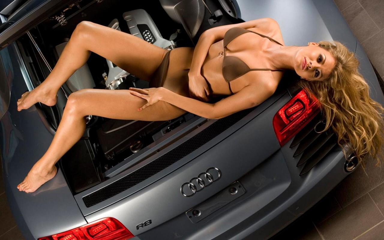 Девушки и авто  голые телки у автомобилей  убойная фото