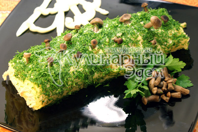 Салат полено пошаговый рецепт