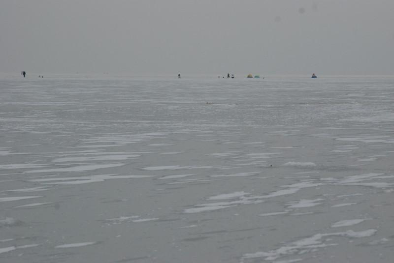 Моя первая зимняя рыбалка на судака