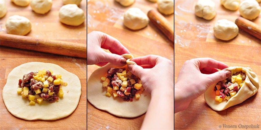 Вак балиш маленькие пироги с мясом и картошкой пошаговый рецепт