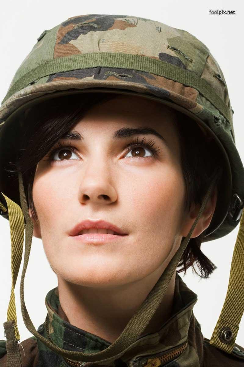 Девушки на службе в армии фото 61