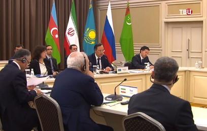 В Актау после 22 лет переговоров закрепят статус Каспия