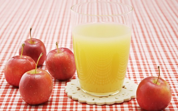 Квас из яблочного сока