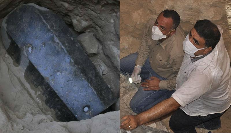 В Египте вскрыли черный «проклятый» саркофаг и обнаружили совсем не то, что ожидали