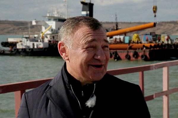 Ротенберг ответил на санкции ЕС из-за Крымского моста