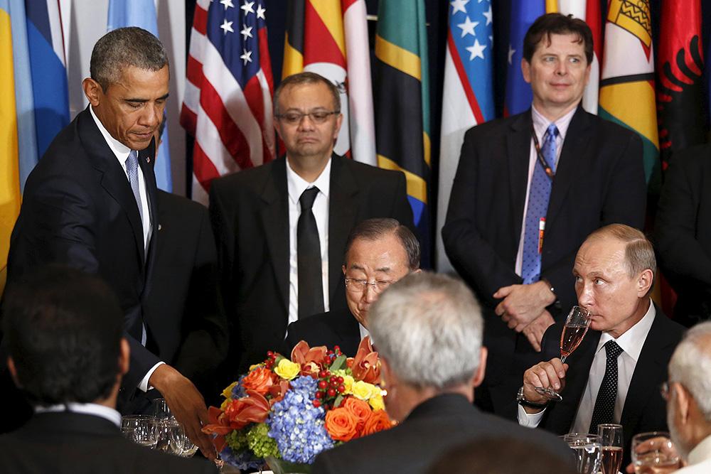 Западные СМИ : «Путин унизил Обаму»