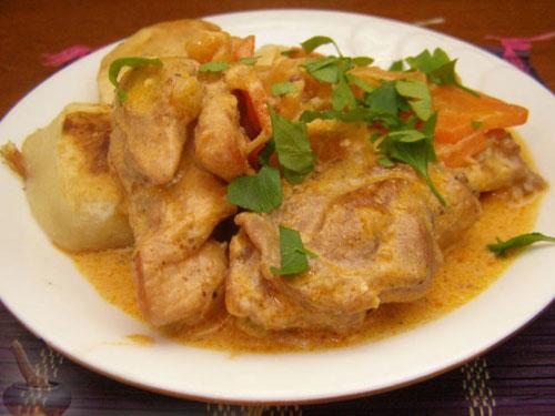 Рецепт кролика Ля фам