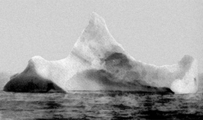 19. Айсберг, с которым столкнулся корабль, начал своё путешествие около двух тысяч лет назад. интересно, кораблекрушение, титаник