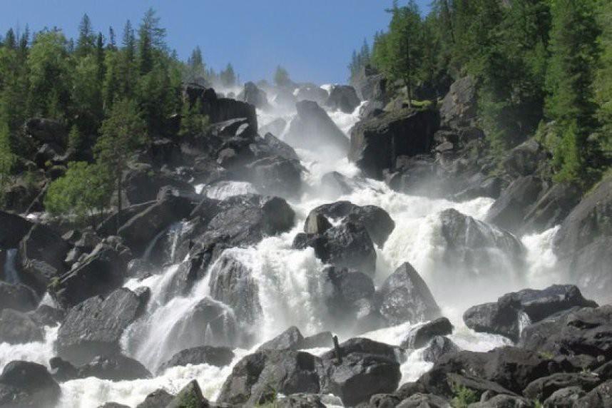 2. Тальниковский водопад водопады, красота, природа