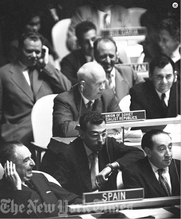 А был ли мальчик, или как Хрущёв в ООН «ботинком стучал»