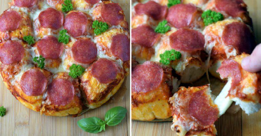 Пицца-булочки