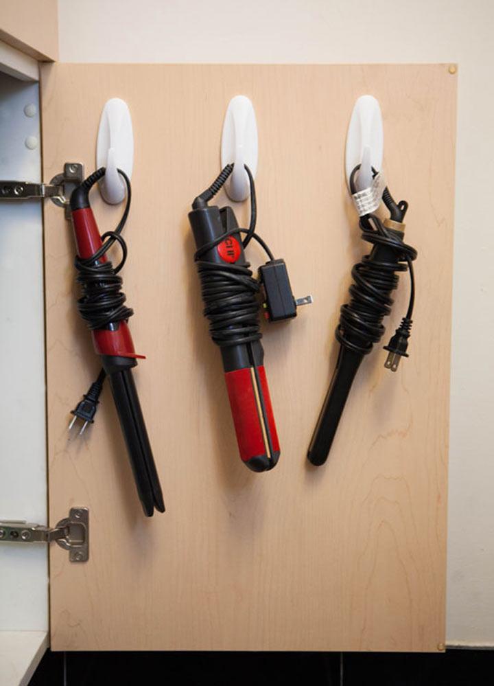 16 способов не стандартного применения крючков на липучке
