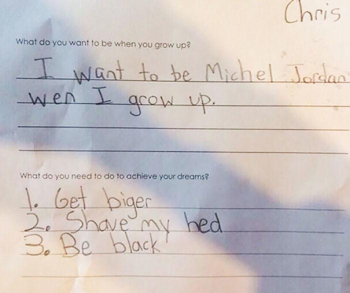 15+ Kids With Hilarious Life Goals