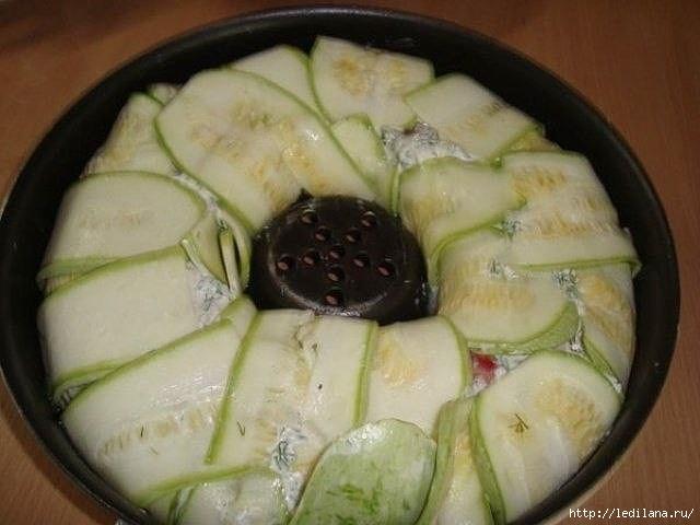 Рецепт приготовления блюд кабачков фото