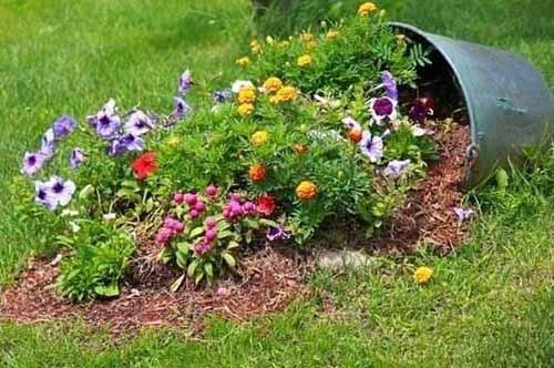 как сделать цветочный ручей