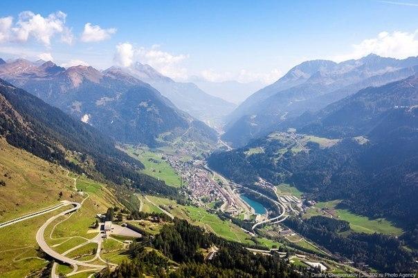 Швейцария: Перевал Сен-Готард
