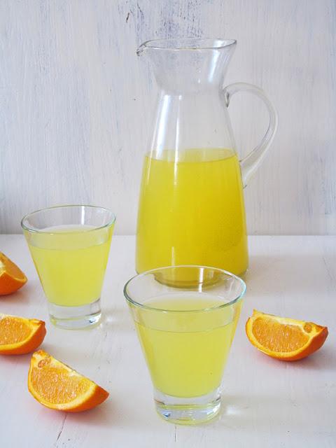 Напиток из замороженного апельсина