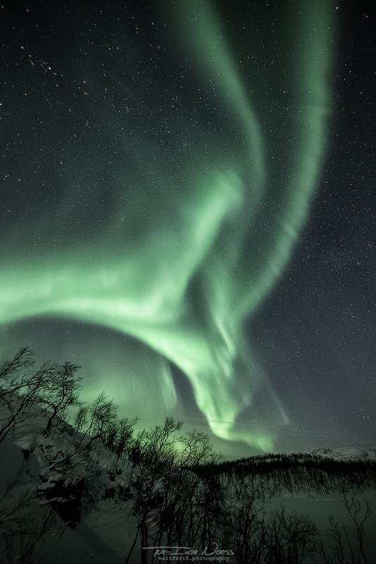 Полярное сияние над Норвегией в 15 захватывающих фотографиях