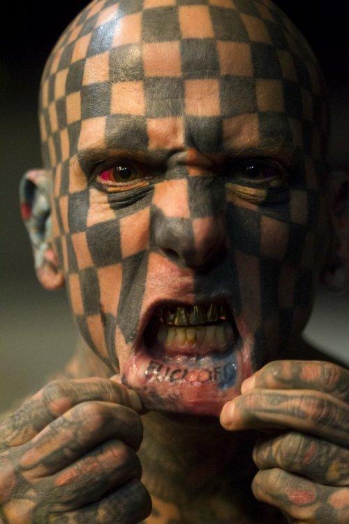 Тату-фестиваль Quito Tattoo Convention 2015 (12 фото)