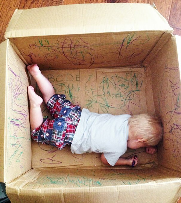 И каждый день можете позволить себе новую коробку, лишь карандашей хватало Фабрика идей, гениально, дети, занятие, интересное, родители, увлечение