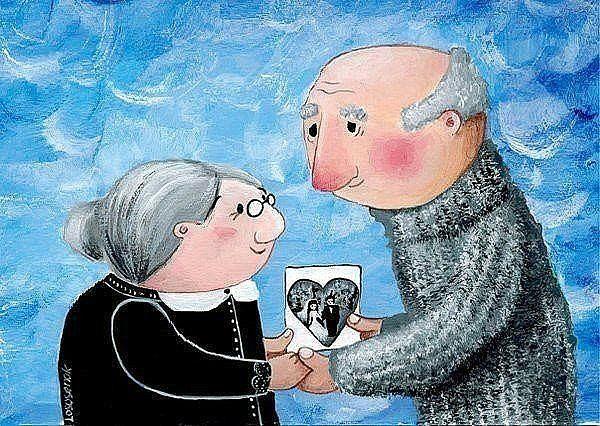 Про баб Шуру мою, которая имела головокружительный роман в 82 года, со свадьбой, переездом и все такое...