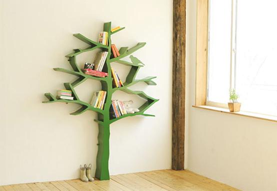 Как украсить полку для книг своими руками