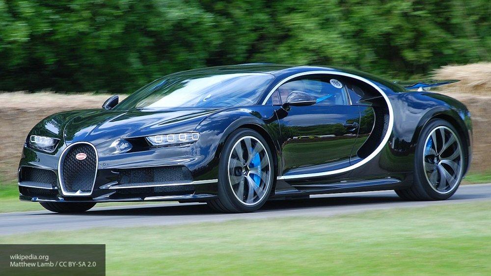 Стало известно, во сколько обошелся гиперкар Bugatti Chiron покупателю из России