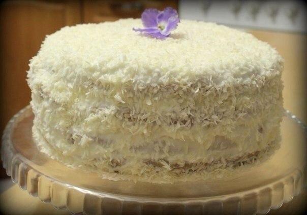 "Торт ""Вишня в снегу""- всем тортам торт!"
