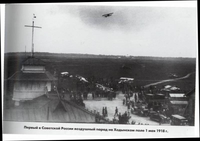 Авиация Красной Армии в Гражданской войне. Некоторые особенности боевого применения