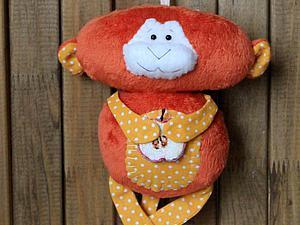 Шьем обезьянку-примитив «Рыжий Апельсин»   Ярмарка Мастеров - ручная работа, handmade