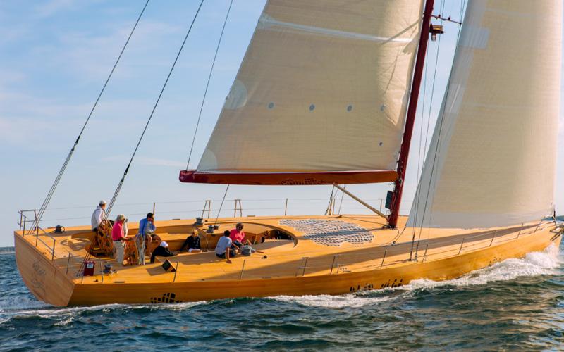 Foggy: как устроена первая яхта от архитектора Фрэнка Гери