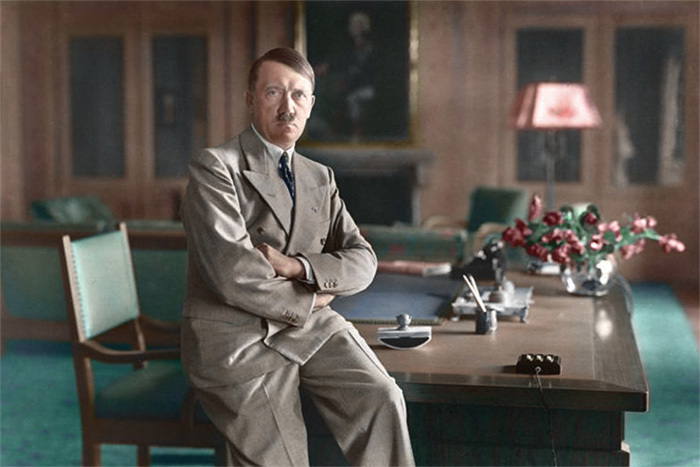 Интерьер резиденции Гитлера в Баварских Альпах