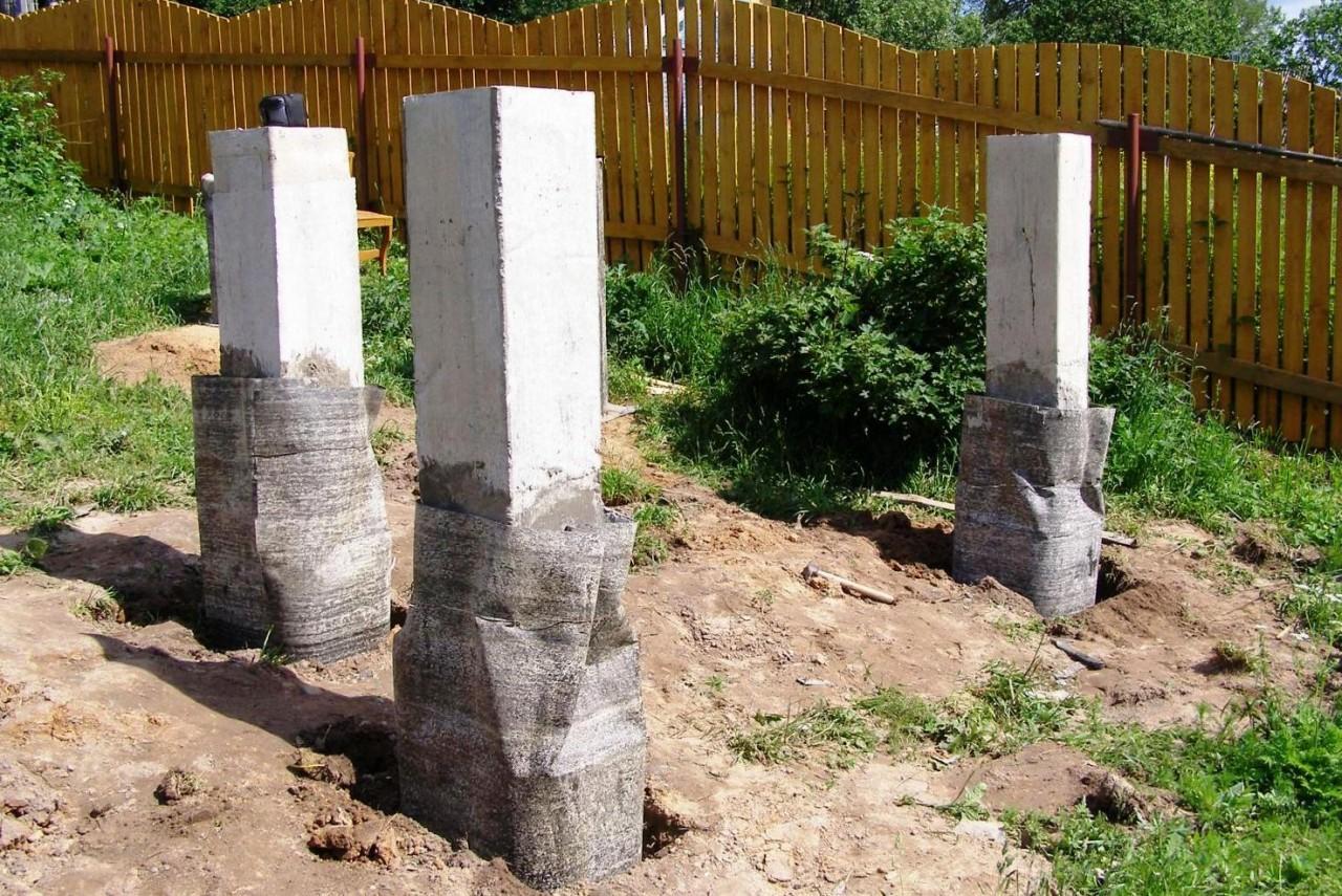 Как сделать фундамент на небольшом склоне