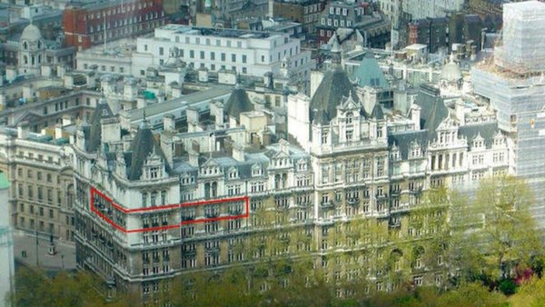 Квартира Игоря Шувалова в Лондоне, по информации ФБК