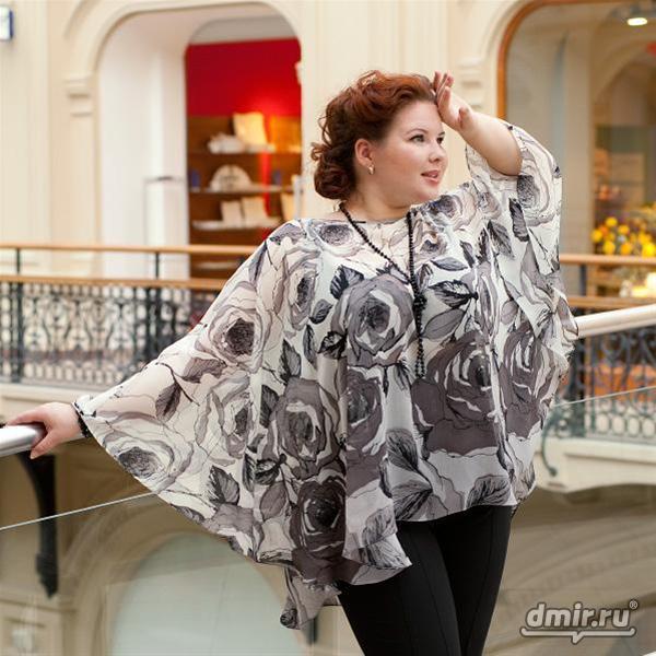 Блуза разлетайка - идеи для кроя (выкройки)