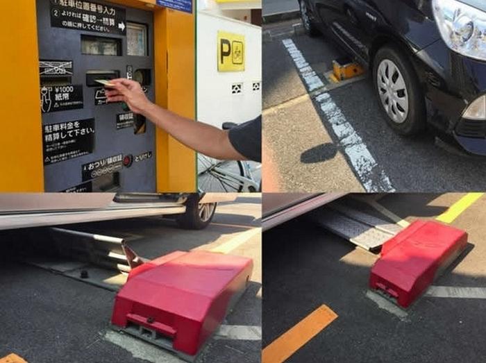 Японские парковки.