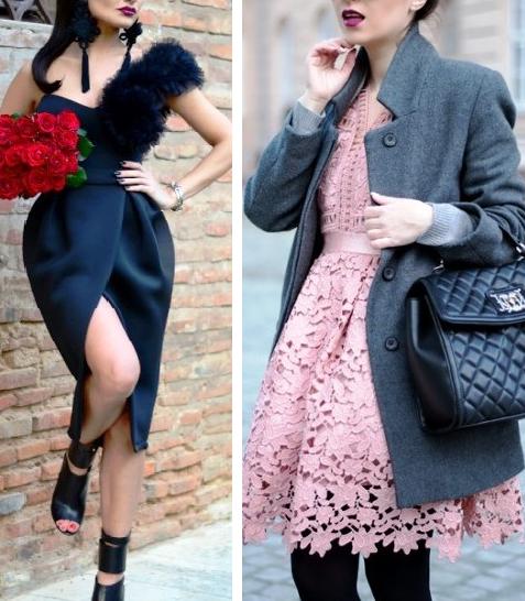 Подборка ярких луков, где главную роль играет платье. Ведь весна и лето прошли, а платья остались!