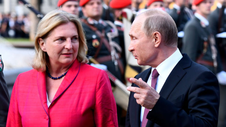 Австрийский ход Владимира Путина. Как изменить систему международных отношений одним частным визитом