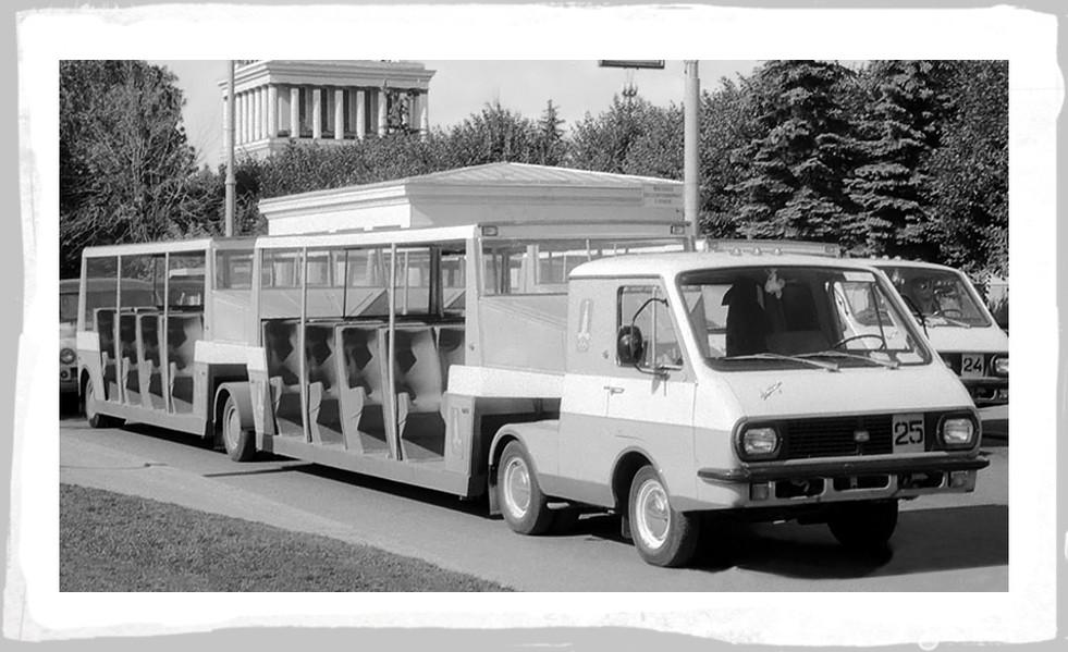 Советские автомобили на Олимпиаде-80