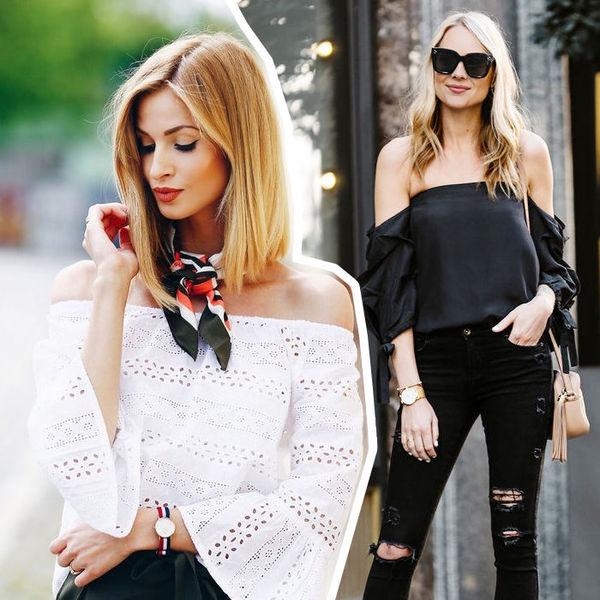 8 модных способов носить блу…
